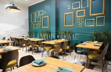 Sant Cugat del Vallès. Restaurante en traspaso en centro urbano y comercial.